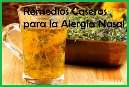 9 Remedios Caseros Para La Alergia Nasal 100 Naturales